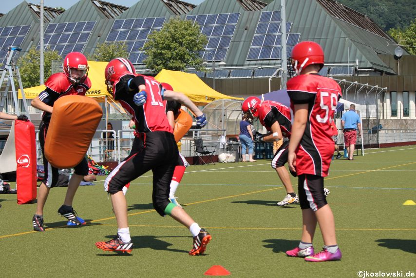 Sommer Camp der Jugend Footballer der Marburg Mercenaries 051