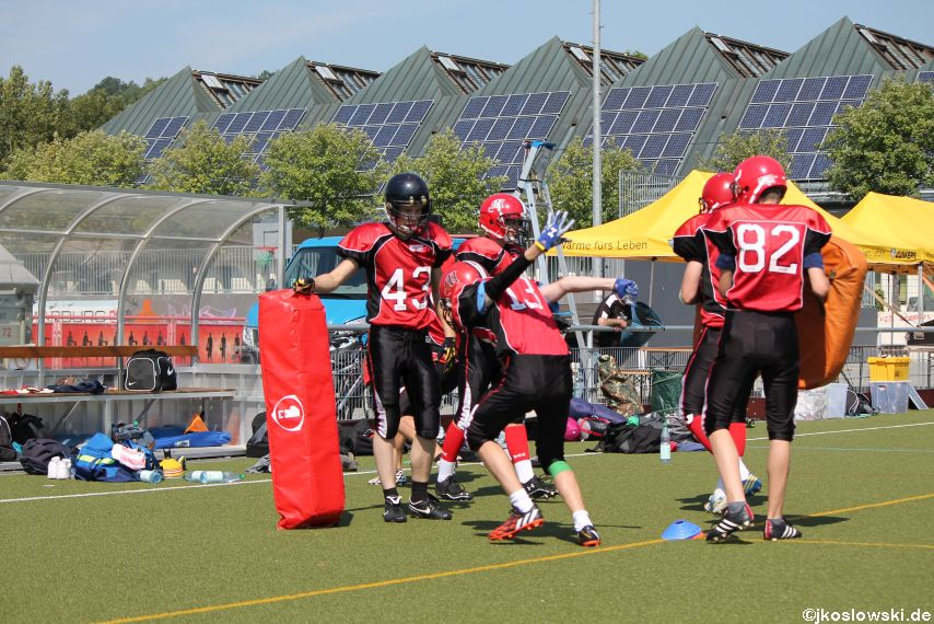 Sommer Camp der Jugend Footballer der Marburg Mercenaries 053