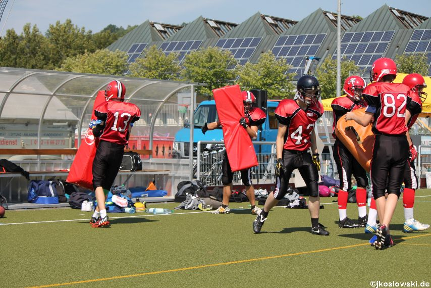 Sommer Camp der Jugend Footballer der Marburg Mercenaries 054
