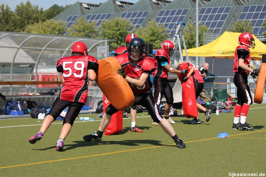 Sommer Camp der Jugend Footballer der Marburg Mercenaries 055