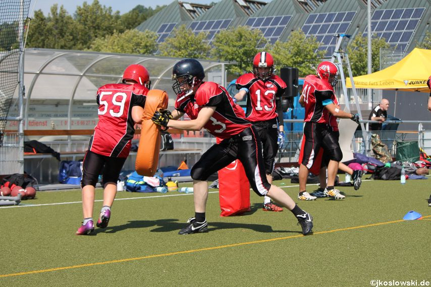 Sommer Camp der Jugend Footballer der Marburg Mercenaries 056