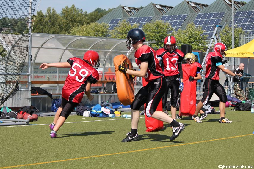 Sommer Camp der Jugend Footballer der Marburg Mercenaries 057