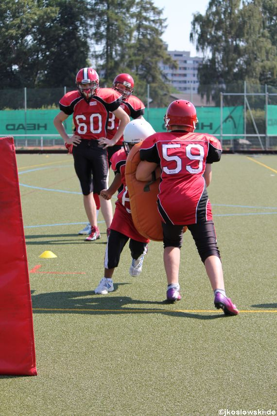 Sommer Camp der Jugend Footballer der Marburg Mercenaries 064