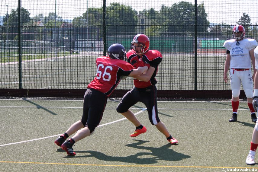 Sommer Camp der Jugend Footballer der Marburg Mercenaries 069