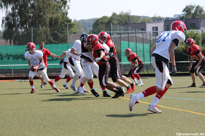 Sommer Camp der Jugend Footballer der Marburg Mercenaries 072