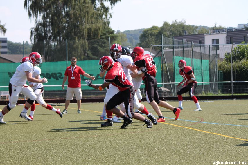 Sommer Camp der Jugend Footballer der Marburg Mercenaries 073