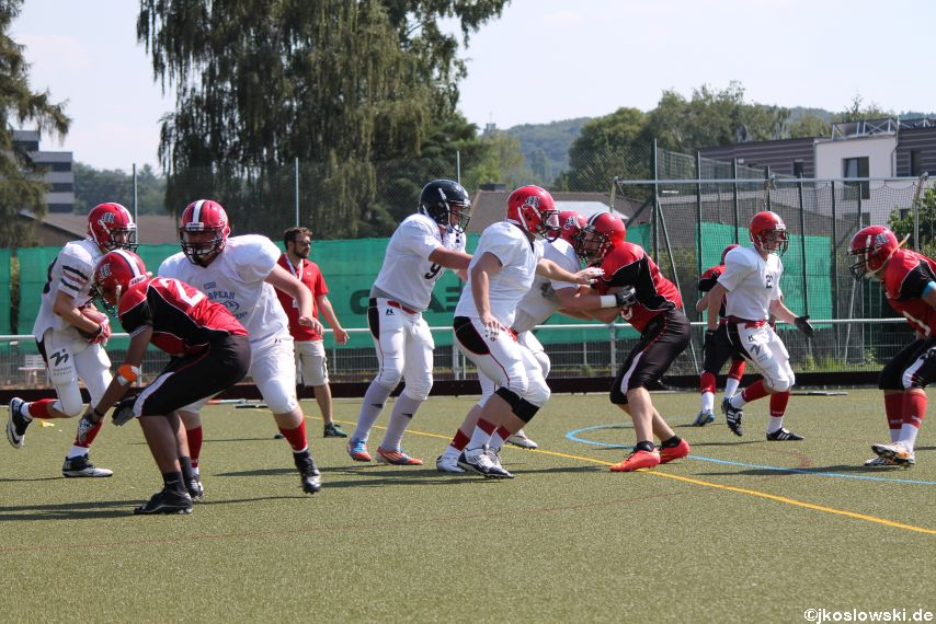 Sommer Camp der Jugend Footballer der Marburg Mercenaries 074