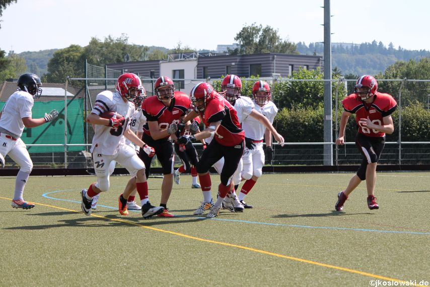 Sommer Camp der Jugend Footballer der Marburg Mercenaries 076