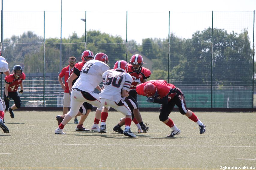 Sommer Camp der Jugend Footballer der Marburg Mercenaries 100