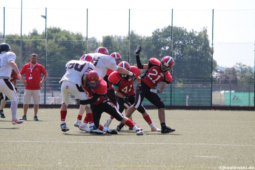 Sommer Camp der Jugend Footballer der Marburg Mercenaries 101