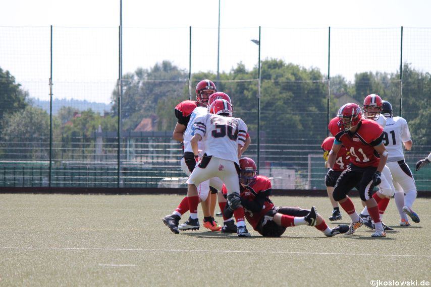 Sommer Camp der Jugend Footballer der Marburg Mercenaries 104