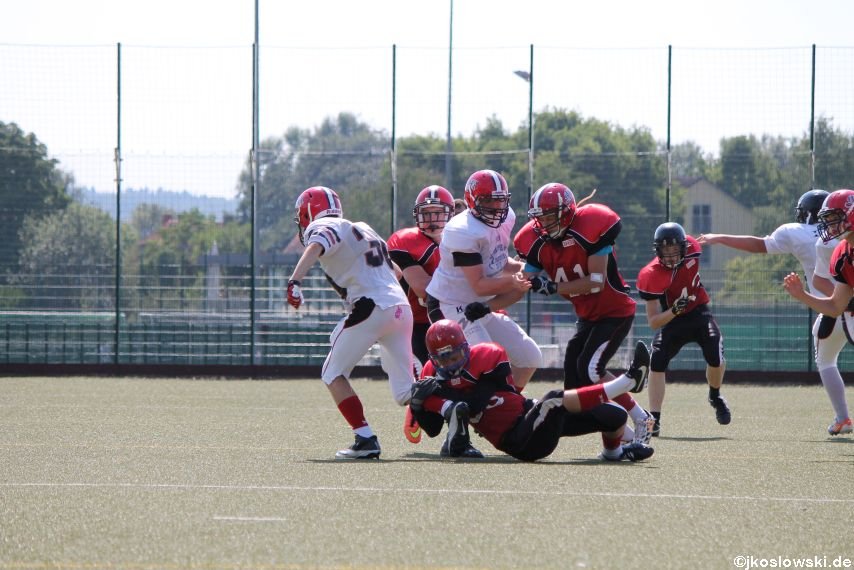 Sommer Camp der Jugend Footballer der Marburg Mercenaries 105
