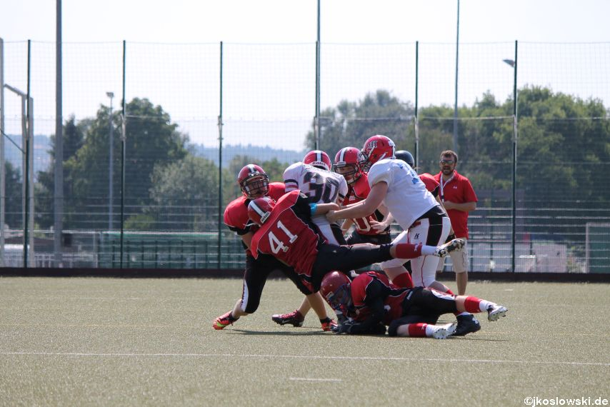 Sommer Camp der Jugend Footballer der Marburg Mercenaries 106
