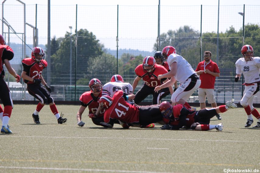 Sommer Camp der Jugend Footballer der Marburg Mercenaries 107