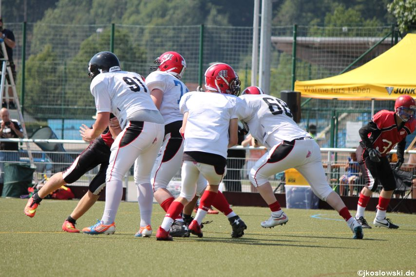 Sommer Camp der Jugend Footballer der Marburg Mercenaries 112