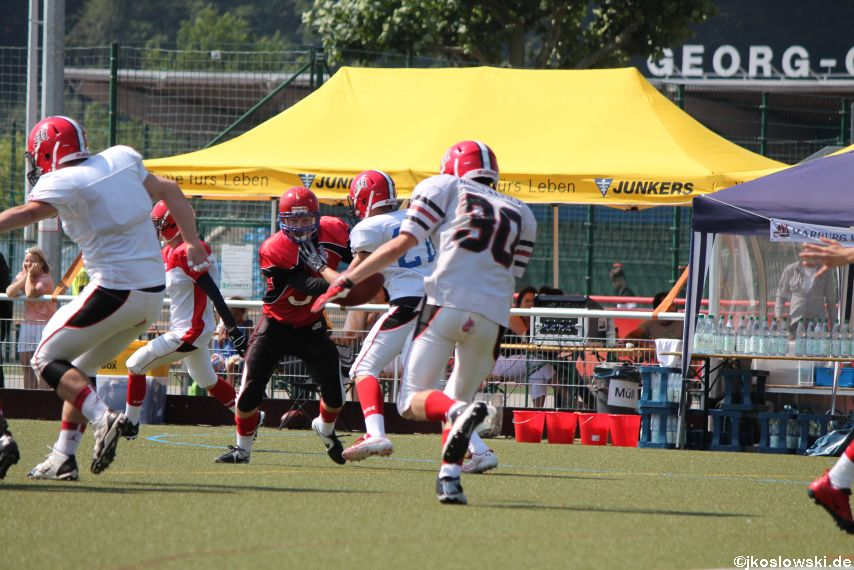 Sommer Camp der Jugend Footballer der Marburg Mercenaries 114