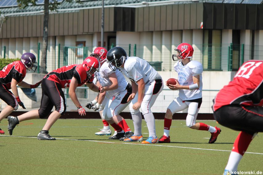 Sommer Camp der Jugend Footballer der Marburg Mercenaries 115