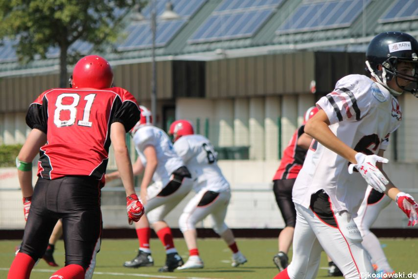 Sommer Camp der Jugend Footballer der Marburg Mercenaries 116