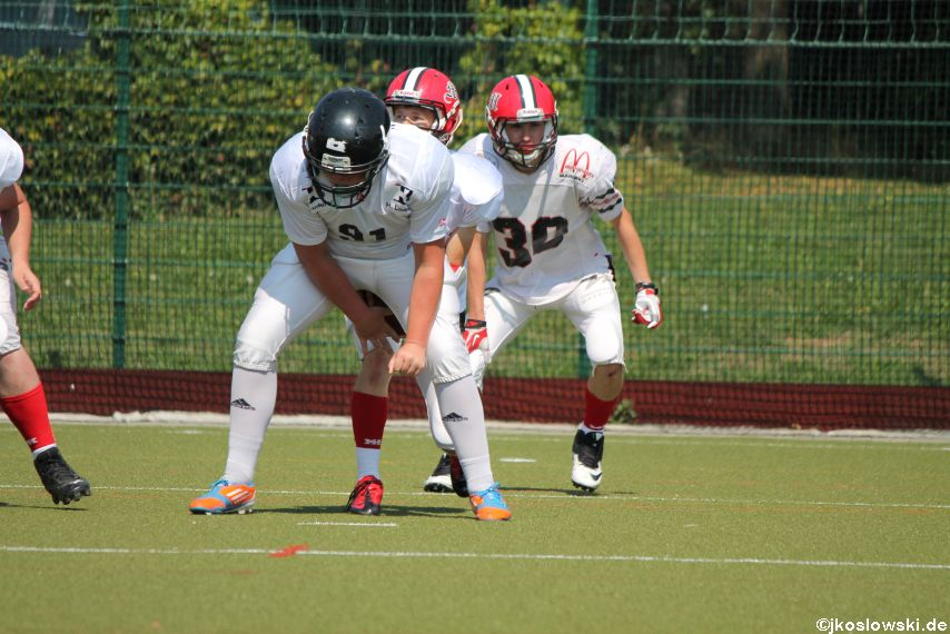 Sommer Camp der Jugend Footballer der Marburg Mercenaries 117