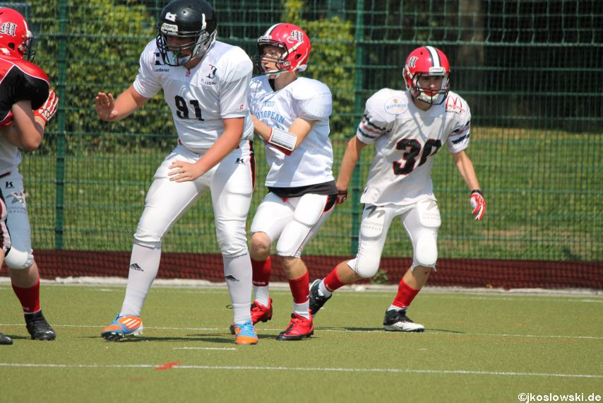 Sommer Camp der Jugend Footballer der Marburg Mercenaries 118