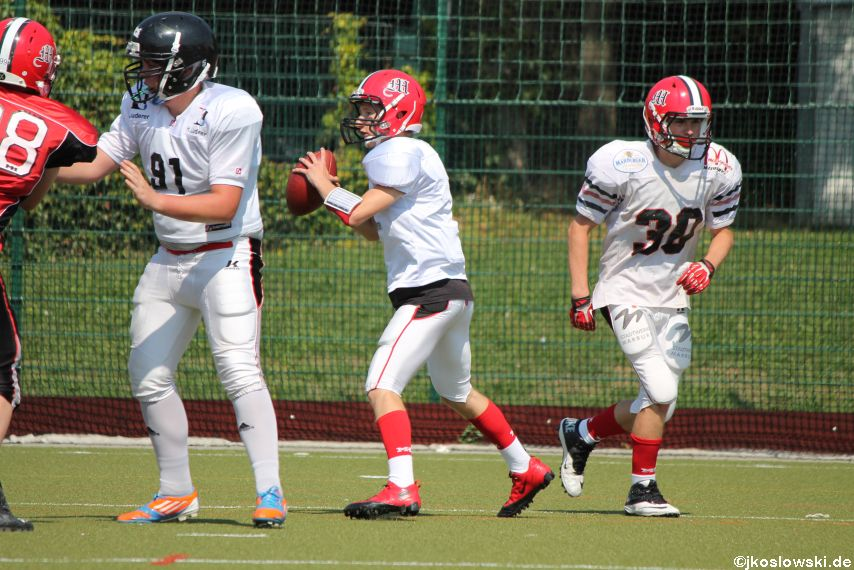 Sommer Camp der Jugend Footballer der Marburg Mercenaries 119