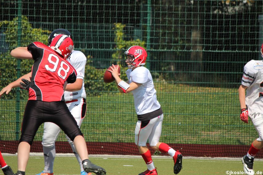 Sommer Camp der Jugend Footballer der Marburg Mercenaries 120
