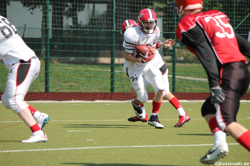 Sommer Camp der Jugend Footballer der Marburg Mercenaries 125