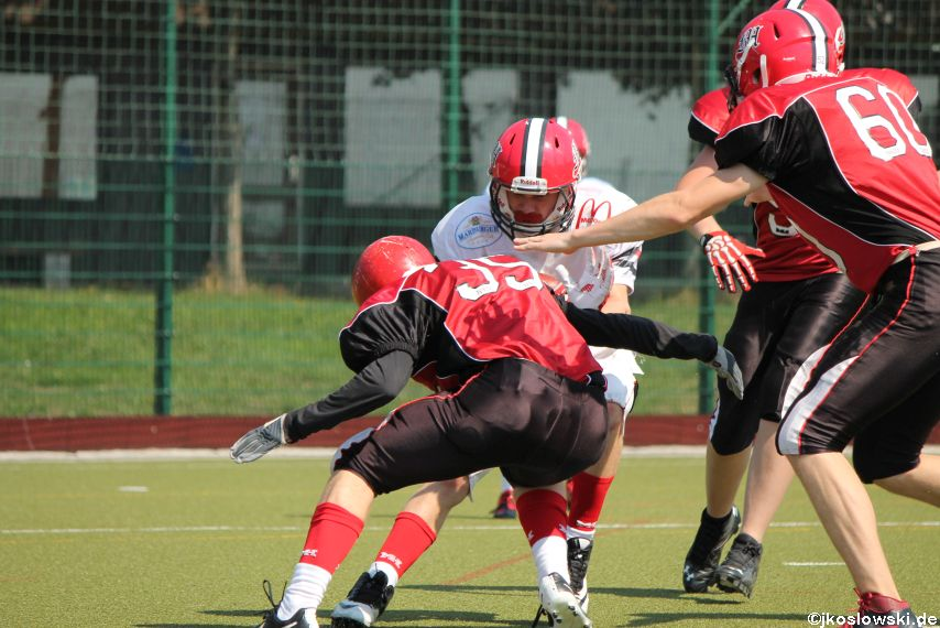 Sommer Camp der Jugend Footballer der Marburg Mercenaries 127