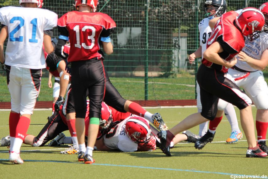 Sommer Camp der Jugend Footballer der Marburg Mercenaries 129