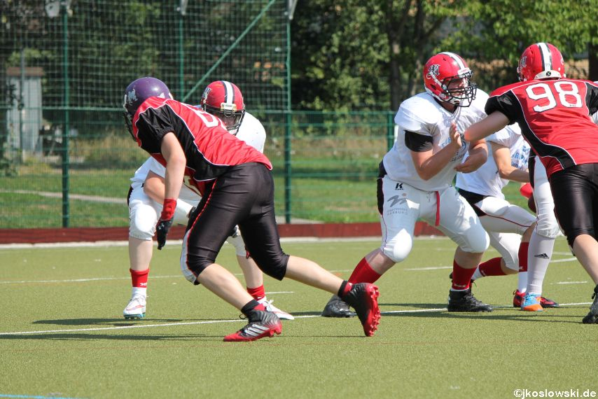 Sommer Camp der Jugend Footballer der Marburg Mercenaries 130