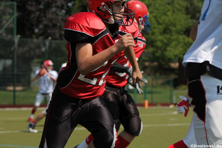 Sommer Camp der Jugend Footballer der Marburg Mercenaries 131