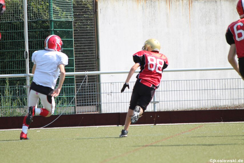 Sommer Camp der Jugend Footballer der Marburg Mercenaries 132