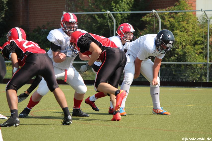 Sommer Camp der Jugend Footballer der Marburg Mercenaries 138