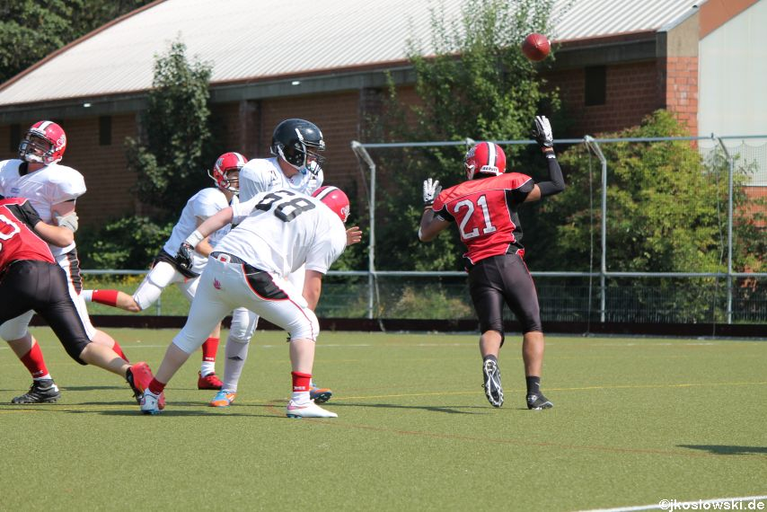 Sommer Camp der Jugend Footballer der Marburg Mercenaries 140