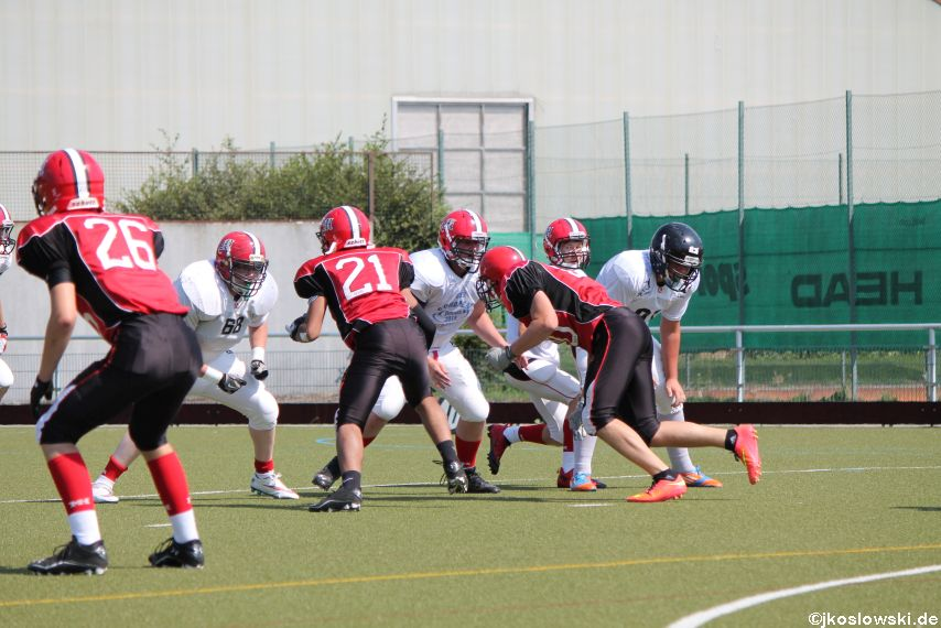 Sommer Camp der Jugend Footballer der Marburg Mercenaries 141