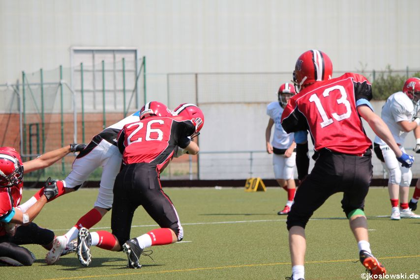 Sommer Camp der Jugend Footballer der Marburg Mercenaries 143