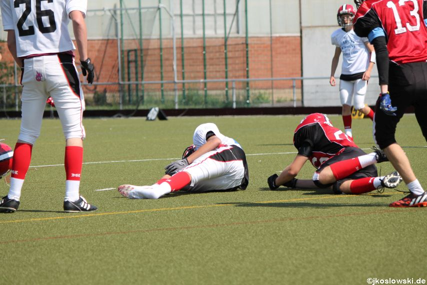Sommer Camp der Jugend Footballer der Marburg Mercenaries 144
