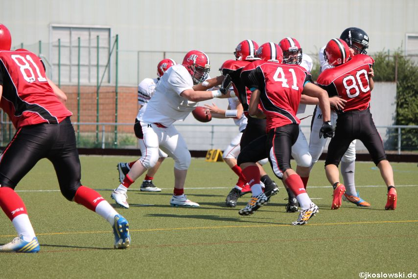 Sommer Camp der Jugend Footballer der Marburg Mercenaries 145