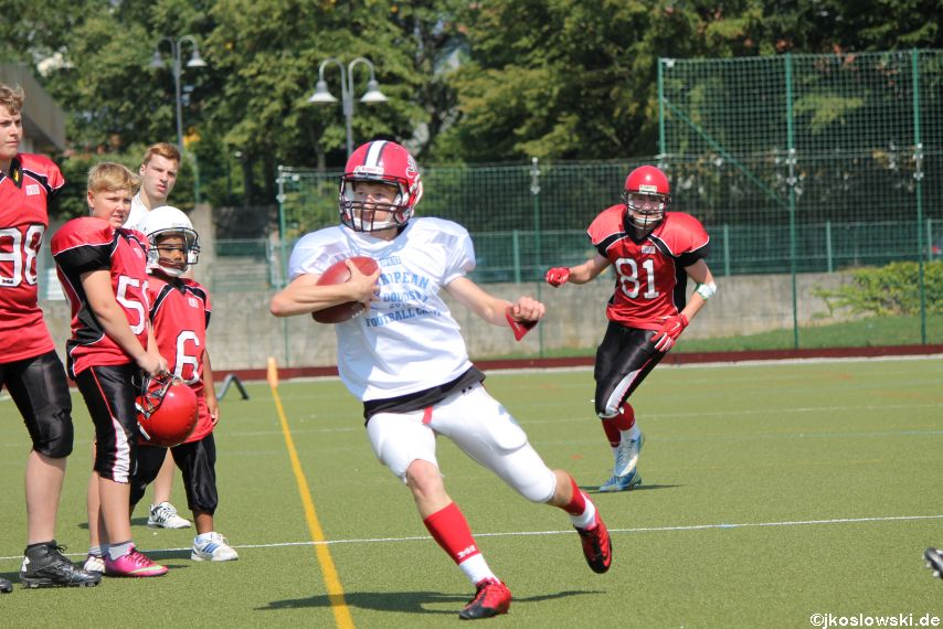Sommer Camp der Jugend Footballer der Marburg Mercenaries 147