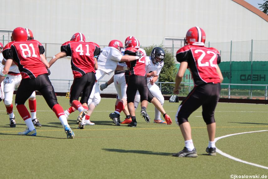 Sommer Camp der Jugend Footballer der Marburg Mercenaries 148