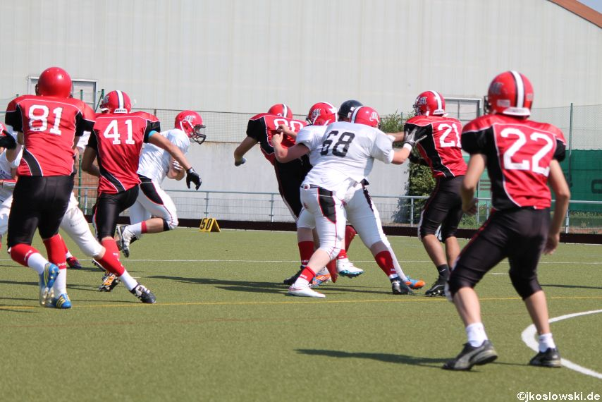 Sommer Camp der Jugend Footballer der Marburg Mercenaries 149