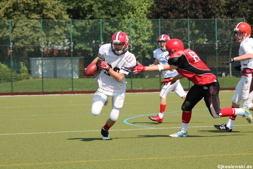 Sommer Camp der Jugend Footballer der Marburg Mercenaries 151