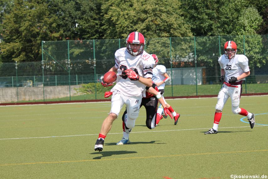 Sommer Camp der Jugend Footballer der Marburg Mercenaries 152