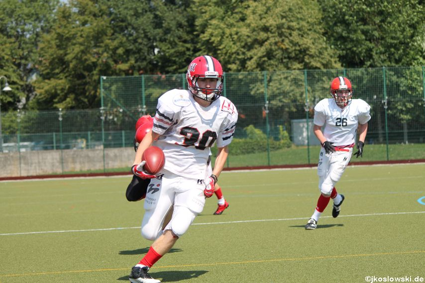 Sommer Camp der Jugend Footballer der Marburg Mercenaries 153