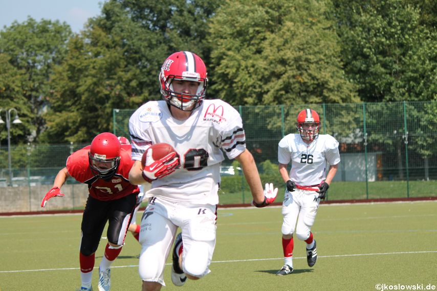 Sommer Camp der Jugend Footballer der Marburg Mercenaries 154