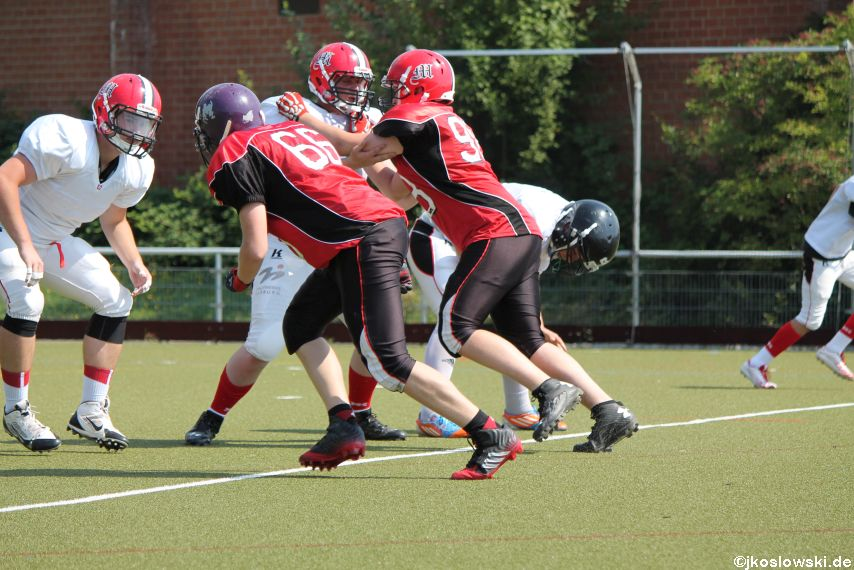 Sommer Camp der Jugend Footballer der Marburg Mercenaries 157