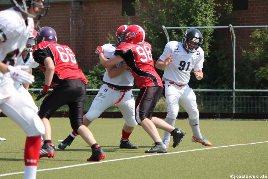 Sommer Camp der Jugend Footballer der Marburg Mercenaries 158