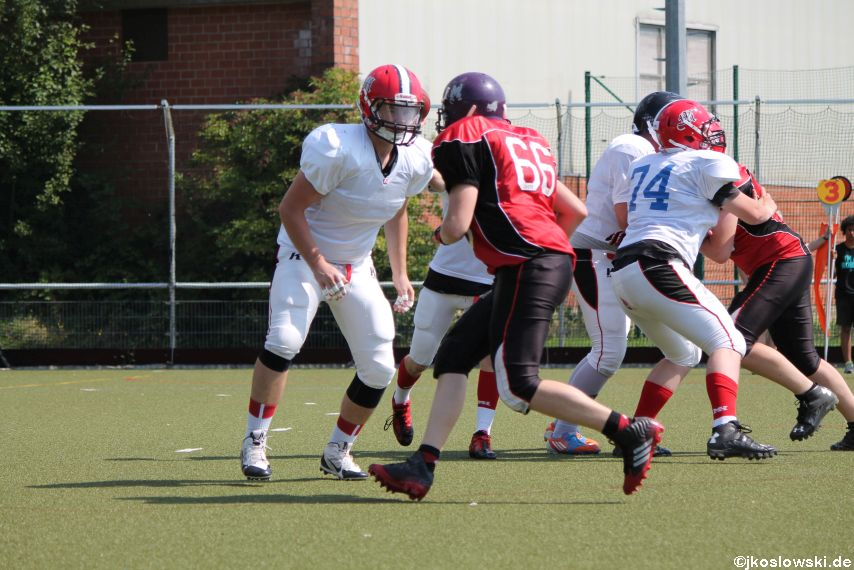 Sommer Camp der Jugend Footballer der Marburg Mercenaries 159