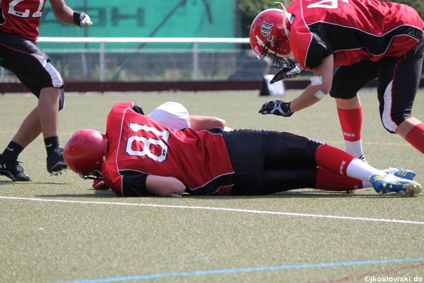 Sommer Camp der Jugend Footballer der Marburg Mercenaries 161