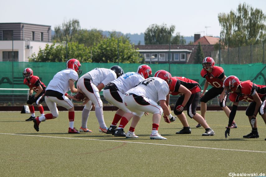 Sommer Camp der Jugend Footballer der Marburg Mercenaries 162